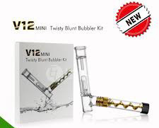 V12 Mini Twisty Blunt Bubbler Kit
