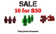 10 Pack (iChronic 75mg Rosin Gummies)